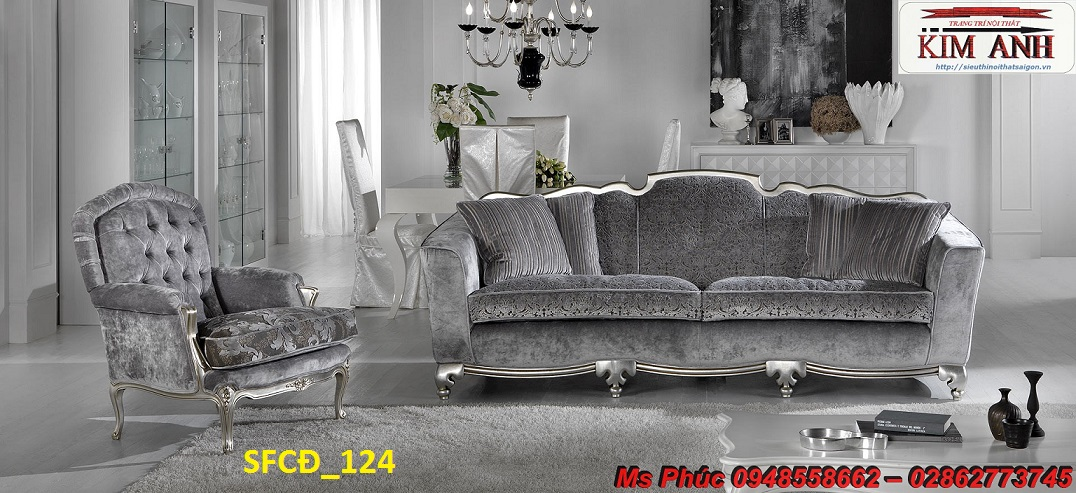Sofa co dien Can Tho 124